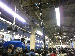 富士・はやぶさラストラン@東京駅(2009/03/13)
