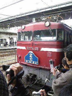 富士・はやぶさラストラン@門司(2009/03/14)